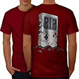 wellcoda Alt Game Boy Männer 5XL Ringer T-Shirt
