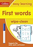 First Words Age 3-5 Wipe Clean Activity Book...