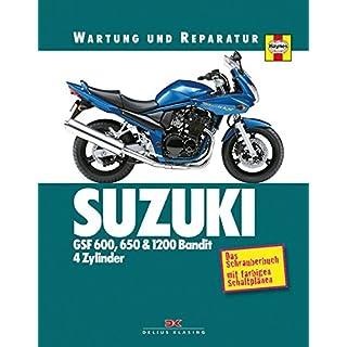 Suzuki GSF 600, 650 & 1200 Bandit - 4 Zylinder