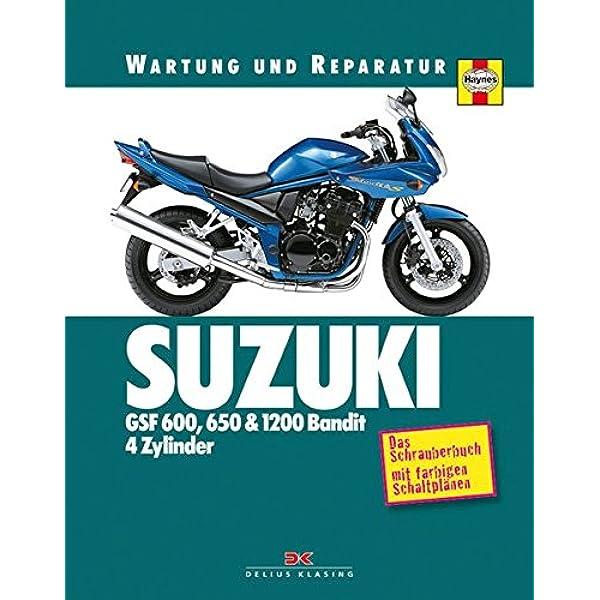 Suzuki Gsf 600 650 1200 Bandit 4 Zylinder Coombs Matthew Mather Phil Bücher
