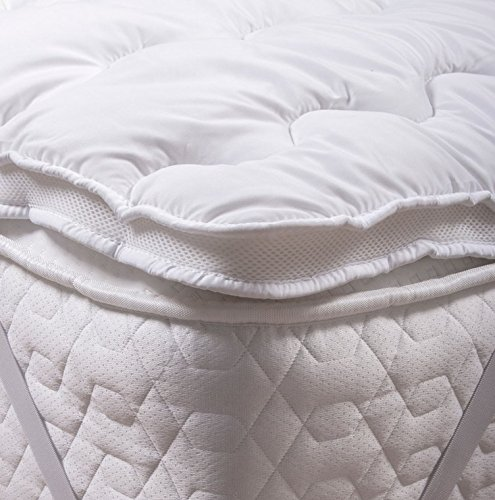 Silentnight Airmax Mattress Topper, White, Double Best Price and Cheapest