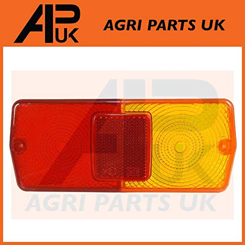 APUK Rear Tail Brake Light Lamp Lens compatible with Ford New Holland 5610  6610 7610 7810 TW Tractor