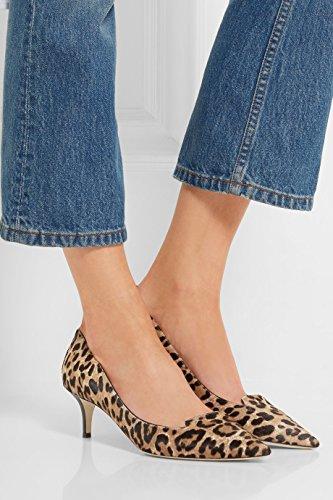 uBeauty Femmes A Enfiler Pointues Toe Stilettos Escarpins Quotidiennement des Chaussures Grande Taille Multicolore