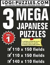 MEGA Japanese Puzzles (Volume 1) by LOGI Puzzles (2014-06-18)