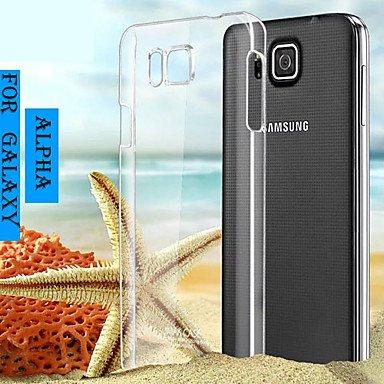 CASE FOR SAMSUNG Handy schützen, Transparente Harte pc Kasten für Samsung-Galaxie Alpha g850f für Samsung (Kompatible Modellen : Galaxy Alpha)