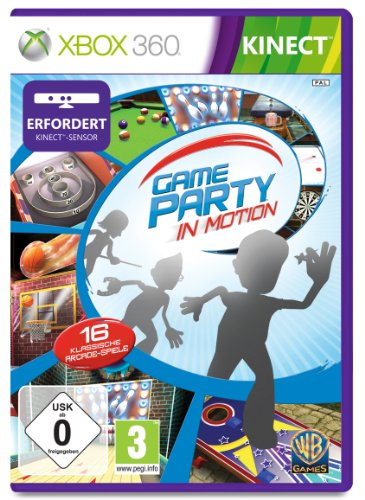 Game Party in Motion (Kinect erforderlich) Xbox 360 Arcade-spiele