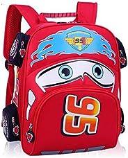 Fashion Children School Bags Cartoon Car Backpack Baby Toddler kids Book Bag Kindergarten Boy Backpacking