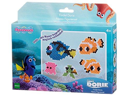 Aquabeads 30109 Findet Dorie Nemo Figurenset Bastelspielzeug (Nemo Findet Spielzeug)