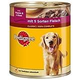 Pedigree Adult 3 Sorten Fleisch, 800g pro Dose