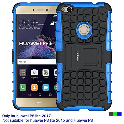 Huawei-P8-Lite-2017-Hlle-Huawei-P8-Lite-2017-Case-Fetrim-Silikon-TPU-plastik-Schlank-Schutzhlle-Handyhlle-Stofest-Schutz-Etui-handy-Doppelstruktur-fall-Harte-Rstung-cover-schale-fr-Huawei-P8-Lite-2017
