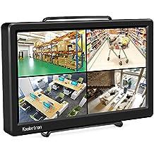"Raspberry Pi 1920x1080 10.1"" FHD IPS Monitor Ultrathin Display HDMI VGA Full HD Monitor for Raspberry Pi 3/PS3/PS4/Will U/Xbox 360/One/Mac mini/PC/Camera/DVD/Home Office/CCTV Surveillance Monitors"