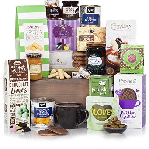 Luxury Gourmet Food Hamper - Traditional Gourmet Food Hampers - Hamper Gifts For Him or Her