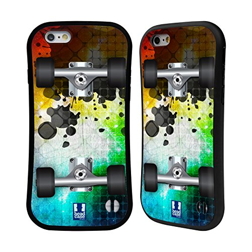 Head Case Designs Mosaic Skateboards Hybrid Case for Apple iPhone 6 / 6s