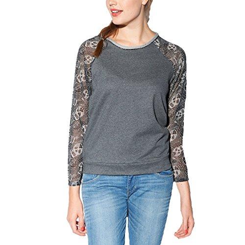 adidas Neo Womens Selena Gomez Printed Lace Sweatshirt