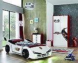 Unbekannt Kinderzimmer Racer Speed Woody mit Autobett 3-teilig
