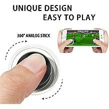 JRing Joysticks Mini Móviles Joystick de la Pantalla Táctil Joypad Para la Pantalla Táctil iPhone iPad Ipod Android Tablet Smartphone Móvil Tablet Arcade Juegos