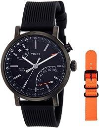 (CERTIFIED REFURBISHED) Timex Metropolitan+ Analog Black Dial Men's Watch - TWG012600AA