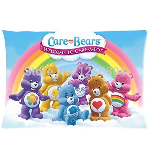 mark-fashion-cool-nice-gift-for-kidsnew-2014-kids-pillow-case-cartoon-care-bears-high-quality-pillow