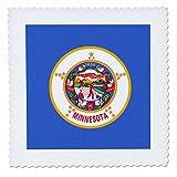 3dRose QS 158376_ 7Flagge Minnesota US American State