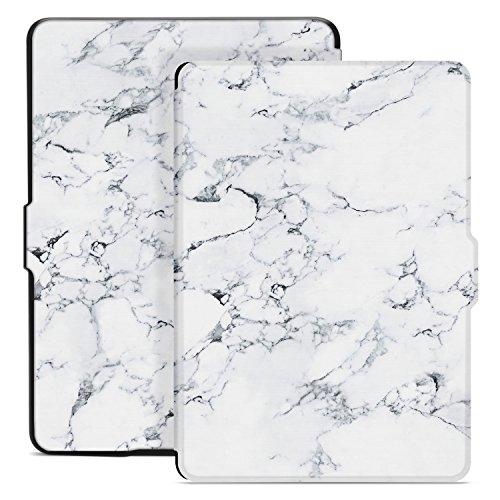 Ayotu Custodia per Kindle Paperwhite - Case Cover Amazon 1/2/3 Adatto Versioni: 2012, 2013, 2015 e 2016 Nuovo 300 ppi (Non Compatibile con 10ª Generazione - Modello 2018), K5-09 The Marble Pattern