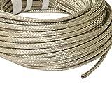 Aerzetix: 5 Meter Φ6-10mm Geflechthülle für Kabel Geschirmte Geflochtene Geschirmte Kupferhülle 24x8x0.15mm C17635