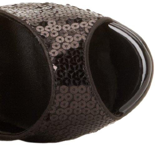 Funtasma FLAPPER-168 Damen Kniestiefel Sandalette Blk Sequins