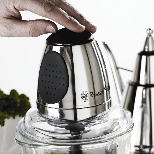 Russell Hobbs 14568 Mini Food Processor with Glass Chopping Bowl by Russell Hobbs