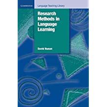 [Research Methods in Language Learning] (By: David Nunan) [published: July, 1992]