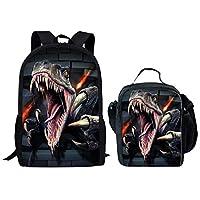 HUGS IDEA Stylish Zoo Animal Kids Backpack Girl Boys School Book Bags
