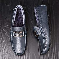 68c5a5dfdd359 LOVDRAM Zapatos De Cuero Para Hombre Nuevos Zapatos Para Hombres Tendencia  Salvaje Coreano Calientes Guisantes Zapatos