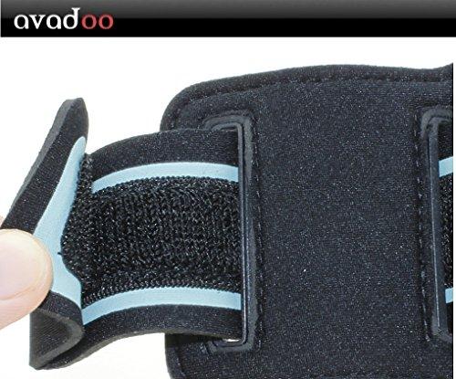 Avadoo iPhone ® sportive, la course et fitnessarmband noir