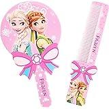 Set of Frozen Kids Hair Brush with Mirror/Frozen Hair Comb/Frozen Brush (1pcs)