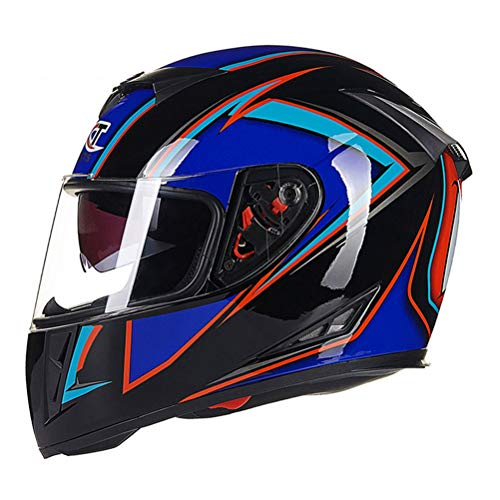 Classico Adulto doppio obiettivo Full Face Motocross Caschi Anti Nebbia Suanproof Mountain Road Moto Casco di sicurezza Locomotiva Off Road Motorbike Rally Casco