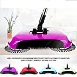 ASkyl Automatic Hand Push Sweeper 360-Degree Built-In Rotating - Best Reviews Guide