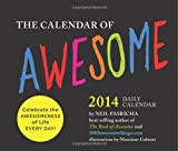 Calendar of Awesome 2014 Daily Calendar (Daily Calendars)