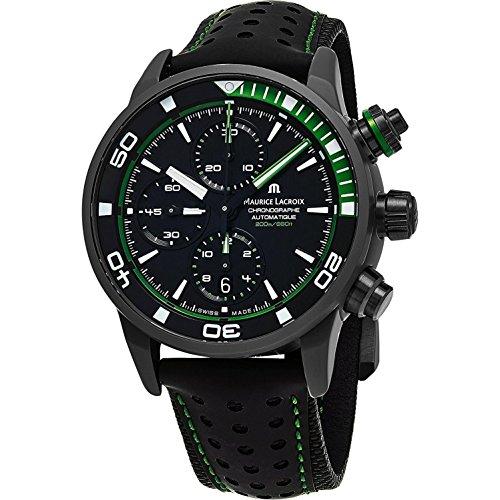 Maurice Lacroix Reloj de hombre automático 43mm PT6028-ALB01-332-1