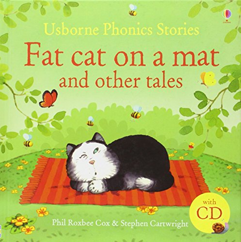 Phonic Stories Collection with CD: Fat cat on a mat and other tales (Usborne Phonics Readers)(Roughcut)