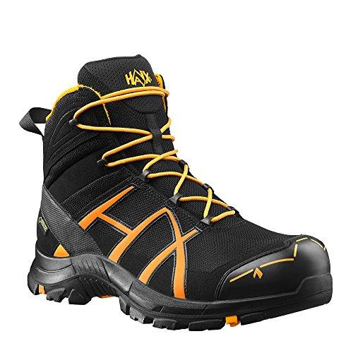 HAIX Black Eagle Safety 40 Mid black/orange S3-Sicherheitsschuhe bieten Arbeitsschutz für Handwerk und Industrie. 37