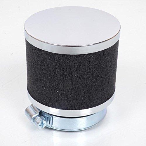 Preisvergleich Produktbild Luftfilter Zylindrische Form Farben Chrom und Schwarz Durchmesser 54 mm NEU