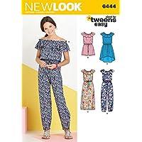 New Look-Cartamodello per cucire abito e casacca da donna in 2 lunghezze da  cucito 6576b0a5e02f