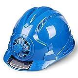 EliteMill Trabajo Casco, Seguridad Laboral Casco, Solar Ventilador Trabajo Casco Ajustable...