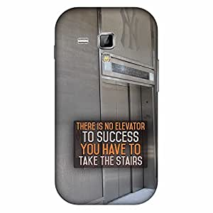 Mobo Monkey Designer Printed Back Case Cover for Samsung Galaxy S Duos S7562 (Try Until You Succeed :: Attitude :: Typography :: Positive :: Motivational)