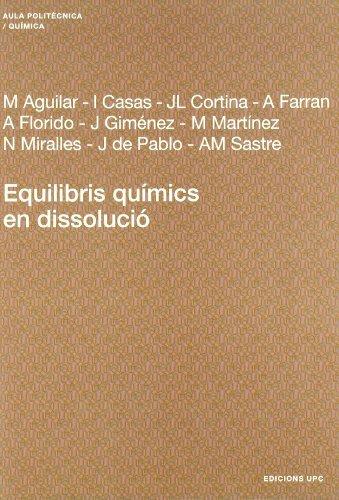 Equilibris químics en dissolució (Aula Politècnica)