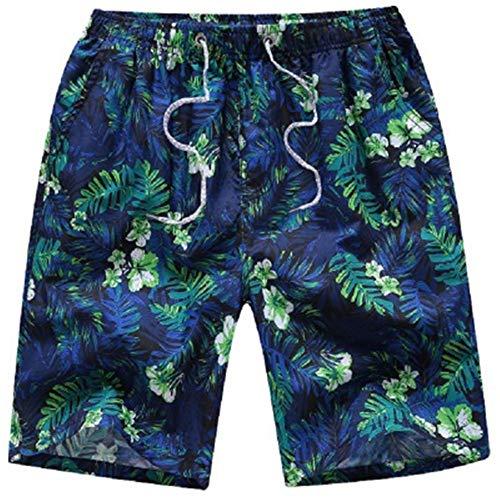 ZHOUXICAN Pantaloncini da Uomo Pantaloncini da Spiaggia da Uomo ad Asciugatura Rapida Estate Paio Shorts Cinque Pantaloni B12 L