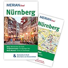 Nürnberg: MERIAN live! - Mit Kartenatlas im Buch und Extra-Karte zum Herausnehmen