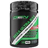 BCAA Ultra 8:1:1 320 Kapseln - 1100 mg pro Kapsel - L-Leucin, L-Isoleucin, L-Valin - Hochdosiert - Verzweigtkettige essentielle Aminosäuren für Fitness, Sport, Muskelaufbau, Bodybuilding - German Elite Nutrition