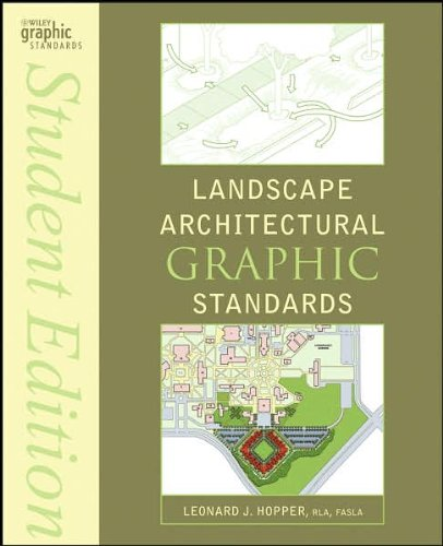 Landscape Architectural Graphic Standards (text only) Student edition by L. J. Hopper