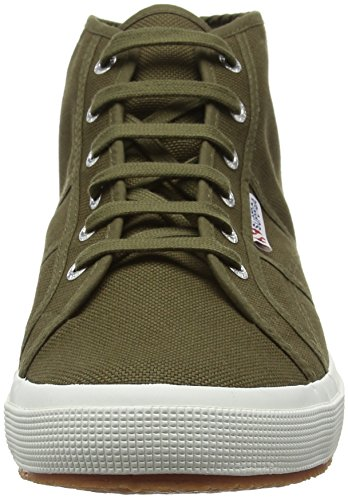 Superga 2754 Cotu, Sneakers Unisex - Adulto Verde (595 Military Green)