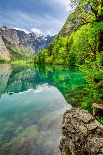 obersee-lake-in-the-alps-of-germany-journal