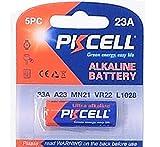 PKCELL 1 x 23A 12V (1 Blistercards a 1 Batterie) Quecksilberfreie Alkaline Batterie MN21, 23A, V23GA, L1028, A23 Markenware